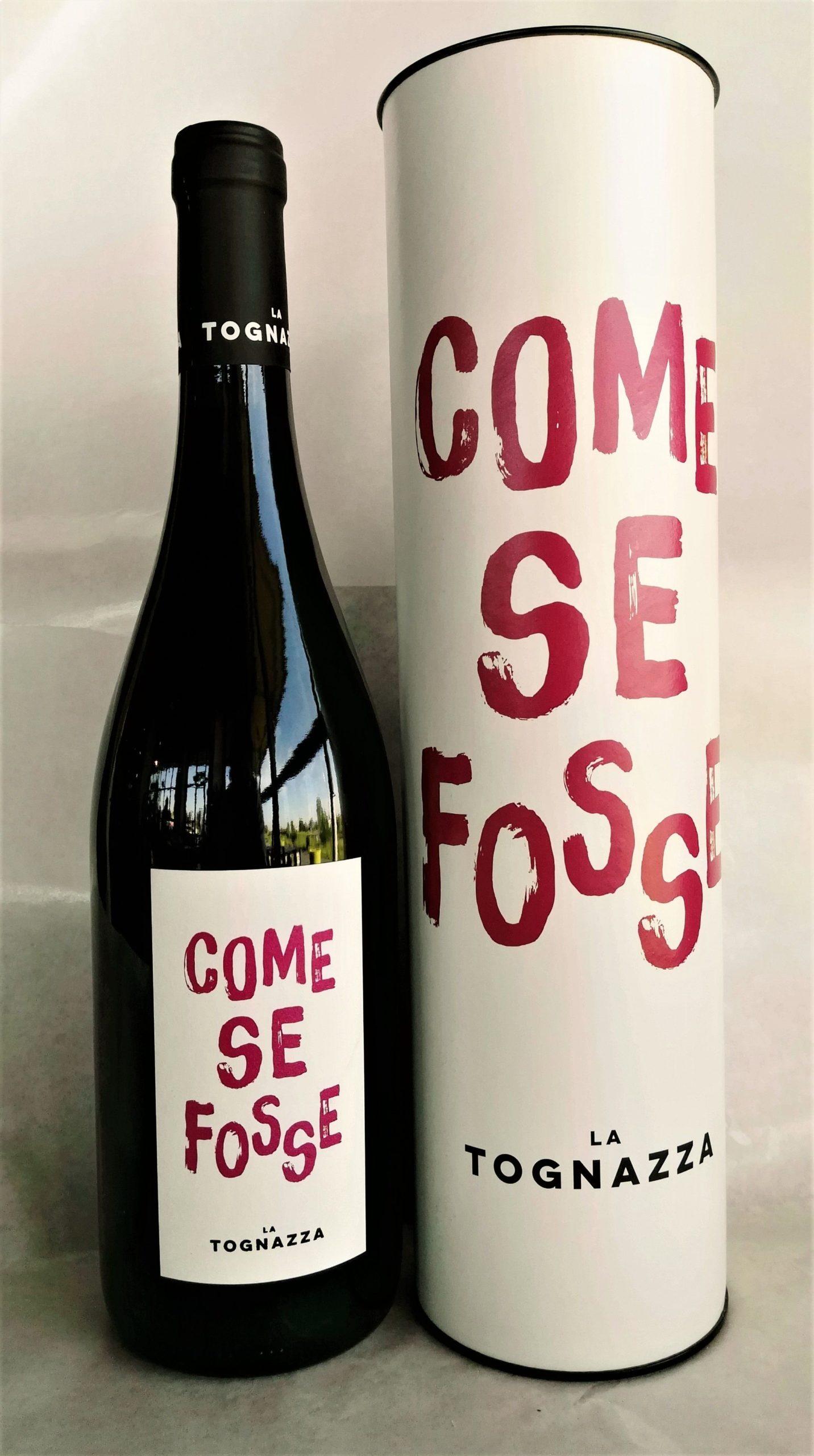 """Vino Rosso """"Come Se Fosse"""" - La Tognazza"""